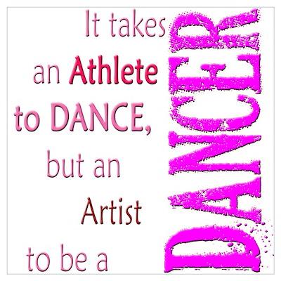 Artist Athlete Dancer Poster