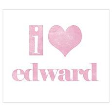 i heart edward Poster