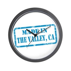 MADE IN THE VALLEY Wall Clock