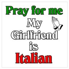 Pray for me my girlfriend is Poster