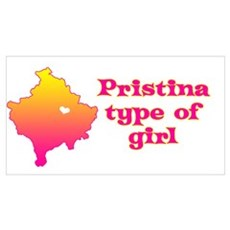 Pristina Type of Girl Canvas Art