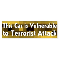 Vulnerable Bumper Bumper Sticker