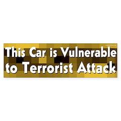 Vulnerable Bumper Bumper Sticker