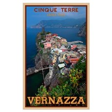 Vernazza from Above Canvas Art