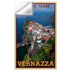 Vernazza from Above Wall Decal