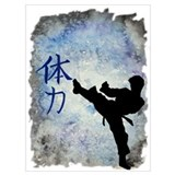 Black belt Wrapped Canvas Art