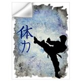 Black belt Wall Decals