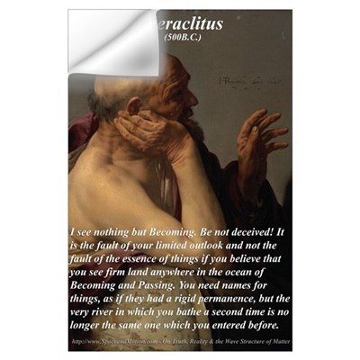 Philosophy: : Heraclitus Wall Decal