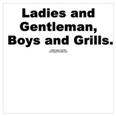 Boys and Grills Poster