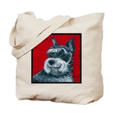 "Schnauzer ""Ruby"" Tote Bag"