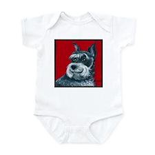 """Schnauzer """"Ruby"""" Infant Bodysuit"""