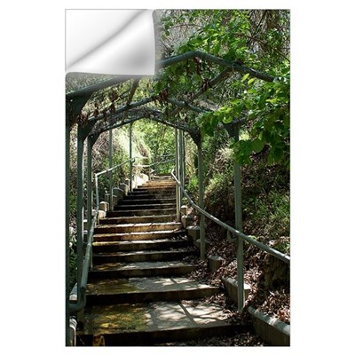 Garden Path Wall Decal