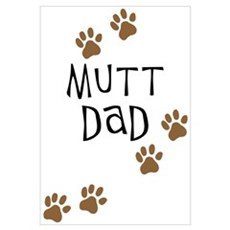 Mutt Dad Canvas Art