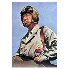 General Patton Framed Print