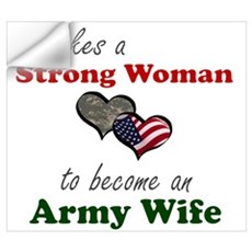 Strong Woman A Wall Decal