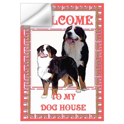 Berner Welcome Wall Decal