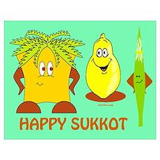 Happy Sukkot Poster