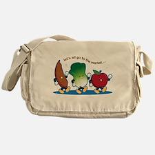 Let's Go to the Market! Messenger Bag
