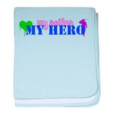 My Hero baby blanket