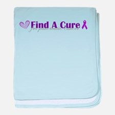 Find A Cure baby blanket