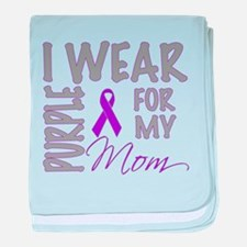 Unique Pancreatic cancer baby blanket
