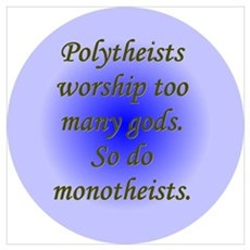 """Polytheists"" Poster"