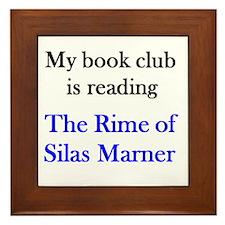 Rime of Silas Framed Tile