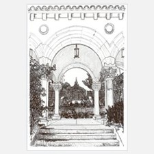 Arches Drawing by RD Riccoboni