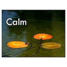 Calm Poster