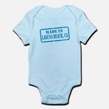 MADE IN LAGUNA BEACH, CA Infant Bodysuit