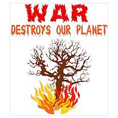 War Planet Destroyer Poster