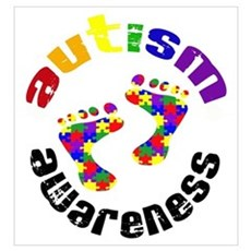 Autism Awareness Circle Poster