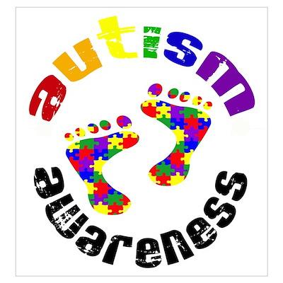 Autism Awareness Circle Poster