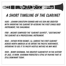 Clarinet Timeline Poster