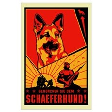 Schaeferhund! Large Propagandaplakate Poster