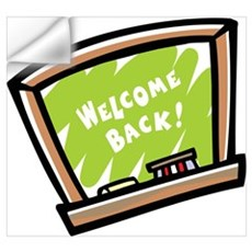 Welcome Back Wall Decal