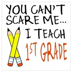 1st Grade Teacher Poster