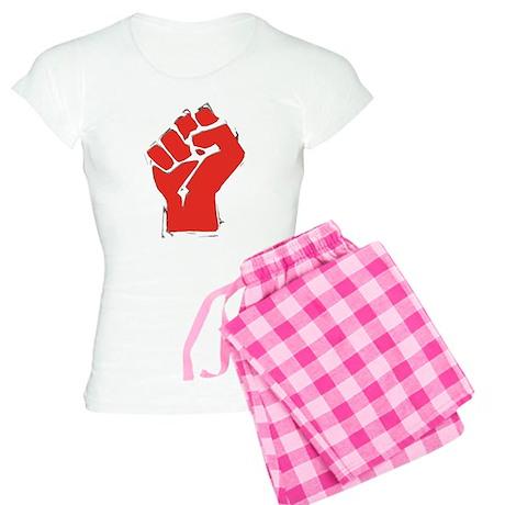 Raised Fist Women's Light Pajamas