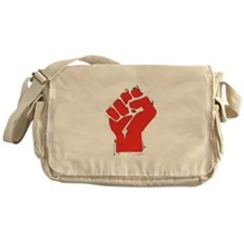 Raised Fist Messenger Bag