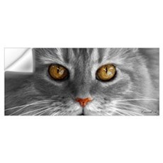 Gold Eyes Wall Decal