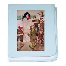 Snow White & the Seven Dwarfs baby blanket