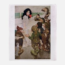 Snow White & the Seven Dwarfs Throw Blanket