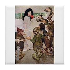 Snow White & the Seven Dwarfs Tile Coaster