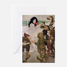 Snow White & the Seven Dwarfs Greeting Card