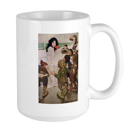 Snow White & the Seven Dwarfs Large Mug