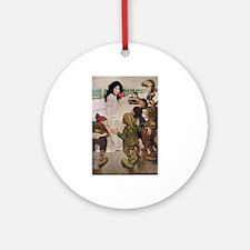 Snow White & the Seven Dwarfs Ornament (Round)