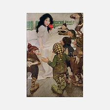 Snow White & the Seven Dwarfs Rectangle Magnet
