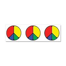Elegant Peace Color Car Magnet 10 x 3