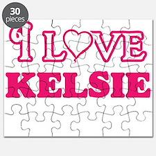 I Love Kelsie Puzzle