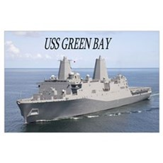 USS Green Bay Poster